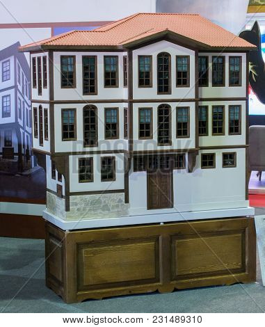 Little Model Of Example Of Outstanding Turkish Traditional Architecture