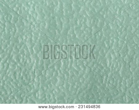 The Texture Of Empy Green Paper Napkin