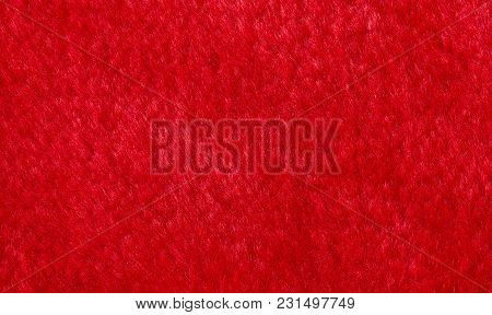 Red Bright Artificial Fur, Faux Fur Background