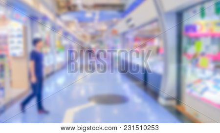 Abstract Blurred Department Store