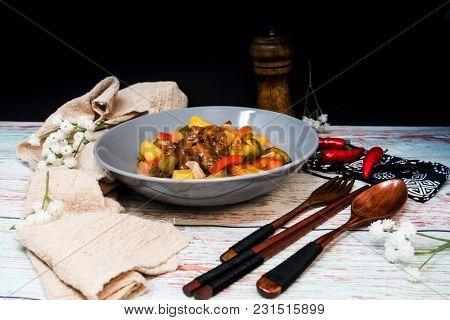 Handmade Sweet and sour pork ribs