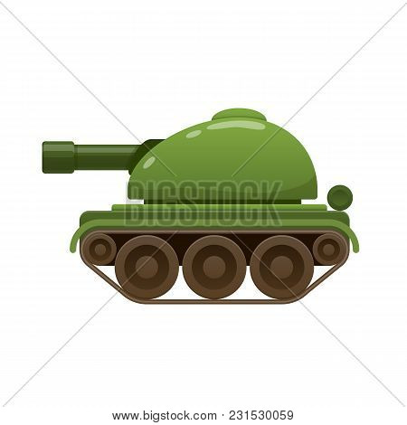 Children S Beautiful Realistic Toy Battle Tank, Armored Car. Green Tank, Armored Combat Vehicles. Mi