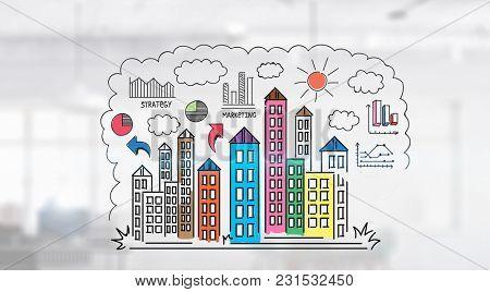 Urban construction industry
