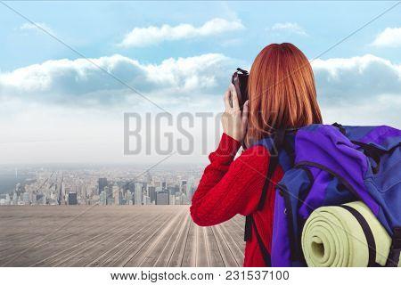 Digital composite of travel torso6