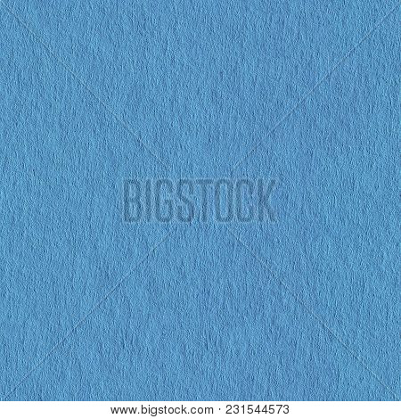 Seamless Square Texture. Blue Paper Texture For Background. Tile Ready.