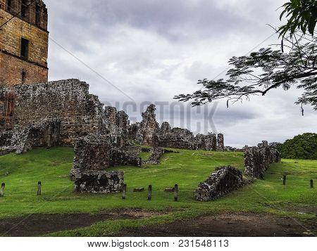 Panama City La Vieja Old Spanish City Destroyed By Pirates