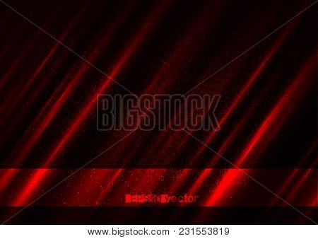 Blood Blotter Bright Light Red Conflict Background. Medicine Hematic Blot Blurred Maroon Wallpaper