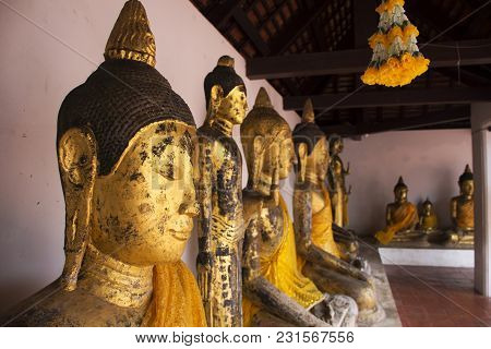 Wat Phra Borommathat Chaiya Temple In Chaiya District In Surat Thani, Thailand