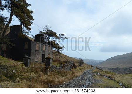 Old House In Isle Of Man