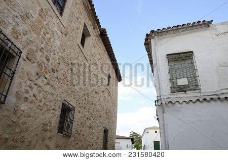 Corner  In The Village Of Belmonte, Province Of Cuenca, Spain.