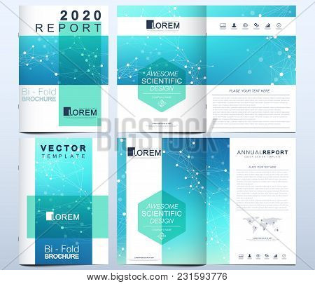 Modern Vector Template For Brochure, Leaflet, Flyer, Advert, Cover, Catalog, Magazine Or Annual Repo