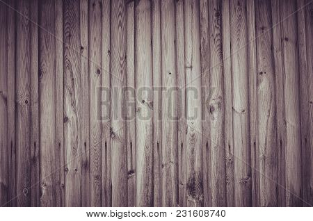 Narrow Wooden Board Background Or Texture For Design