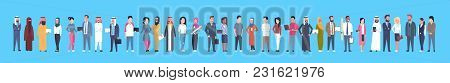 Diverse Business People Businessmen And Businesswomen, Mix Race Businesspeople Horizontal Banner Fla