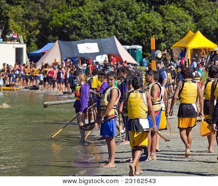 Waka Ama Race Day