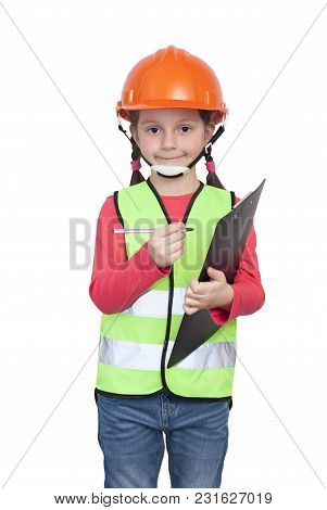 Little Girl Industrial Worker