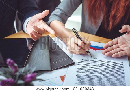 Business Contract. Agreement Was Signed Co-investment Business
