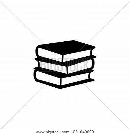 Book Icon Isolated On White Background. Book Icon Modern Symbol For Graphic And Web Design. Book Ico