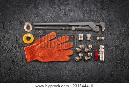 Key For Water Pipes, Plumbing Tools, Protective Gloves, Accessories For Water Supply, Autonomous Hea