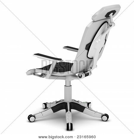 Office chair in a high-tech style
