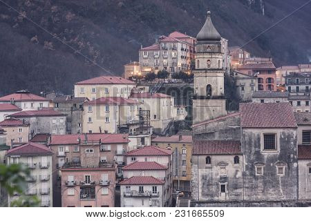 Glimpse Of The City Of Campagna In The Province Of Salerno To Understand A Concept Of Tourism Famous