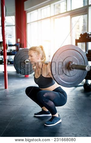 Muscular Athletes Training In A Gym - Functional Training Workout In A Gym