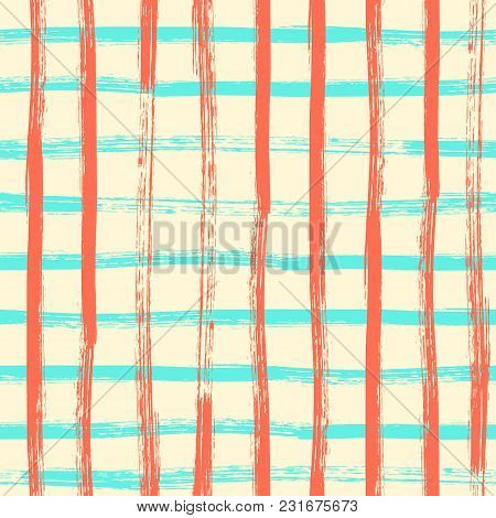 Vector Seamless Pattern In Grunge Style Eps10