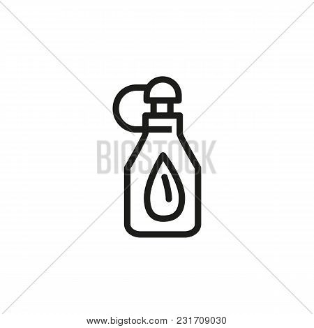 Icon Of Medication Eye Drop. Container, Bottle, Medicine. Optometry Concept. Can Be Used For Topics