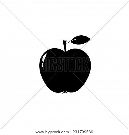 Apple Icon Isolated On White Background. Apple Icon Page Design Apple Icon Logo.