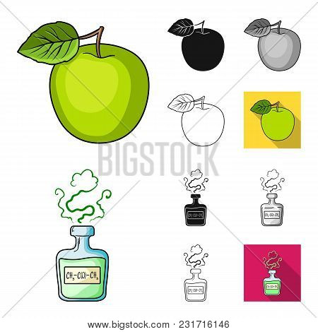 Diabetes Cartoon, Black, Flat, Monochrome, Outline Icons In Set Collection For Design. Treatment Of