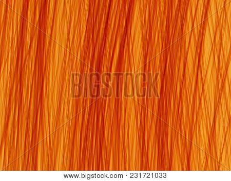 Orange Yellow Toned Abstract Lines Stream Beams Soft Stripes Background Texture