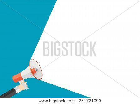 Announce Advertisement Poster Background Vector Illustration Eps10