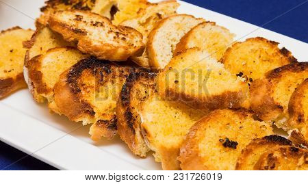 Toasted White Bread At Spring Festival Picnic Event