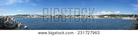 Panorama Of Leuca See View , Apulia, Italy