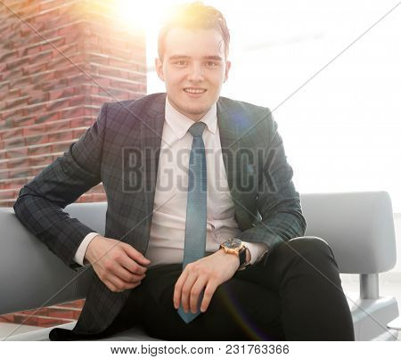business people.portrait of confident businessman