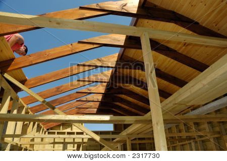 Roof In Construction