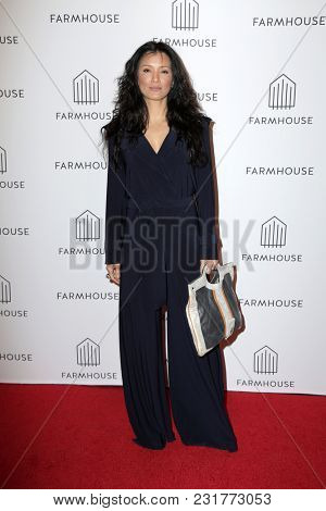 LOS ANGELES - FEB 15:  Kelly Hu at the Grand Opening of FARMHOUSE at the FARMHOUSE, Beverly Center on February 15, 2018 in Los Angeles, CA
