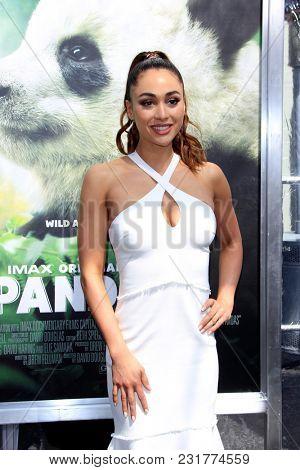 LOS ANGELES - FEB 17:  Lindsey Morgan at the World Premiere Of