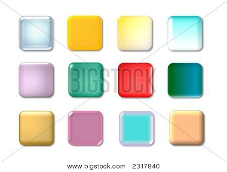 Colorful Web Icons