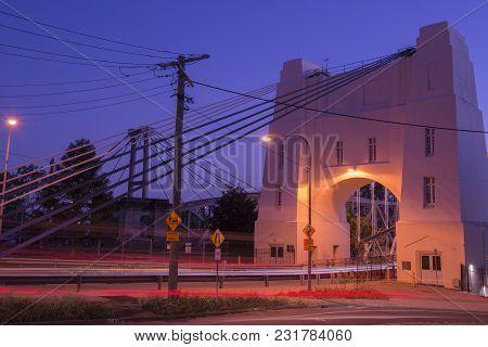 Walter Taylor Bridge In Brisbane.