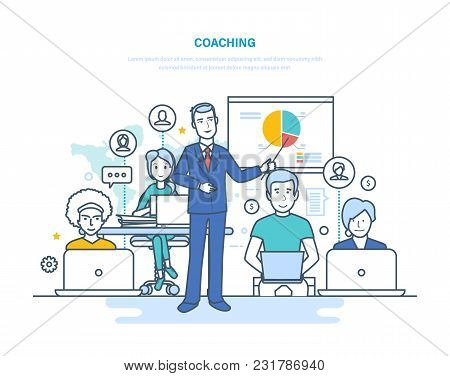 Corporate Coaching, Training, Teaching Business People, Business Learning, Online Education, Distanc