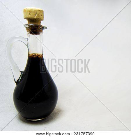 Traditional Balsamic Vinegard Of Modena, Produced From Cooked Grape Must, Aged At Least 12 Years, An