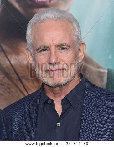 LOS ANGELES - MAR 12:  Patrick McCormick arrives for the 'Tomb Raider' US Premiere on March 12, 2018 in Hollywood, CA