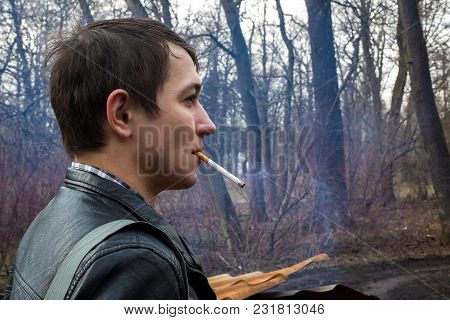 Smoking Man. Hand, Smoke, Cigarette. For Someone It Is Free, For Me It Is Bad.