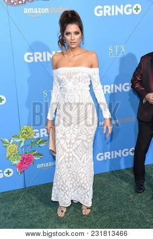 LOS ANGELES - MAR 06:  Blanca Blanco arrives for the 'Gringo' World Premiere on March 6, 2018 in Los Angeles, CA