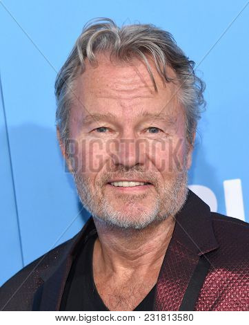 LOS ANGELES - MAR 06:  John Savage arrives for the 'Gringo' World Premiere on March 6, 2018 in Los Angeles, CA