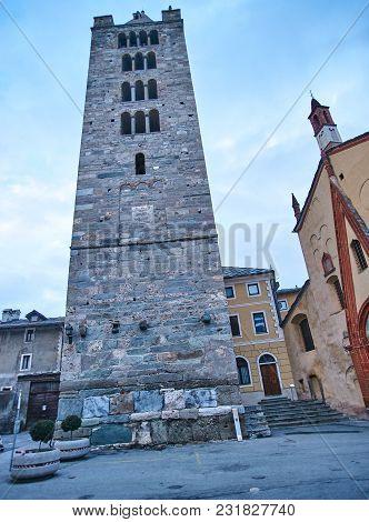 Church Of Sant Orso Aosta - Italy.