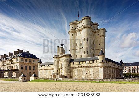 Chateau De Vincennes In Paris