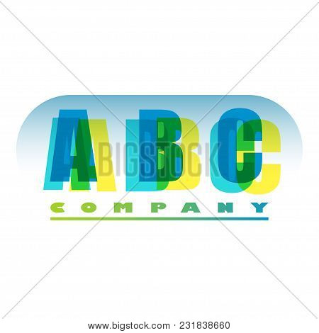 Logo For Company Name On A Transparent Background