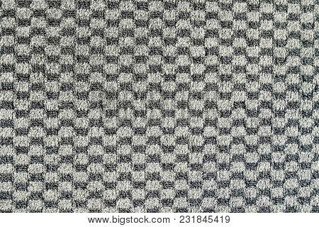 Old faded carpet texture closeup