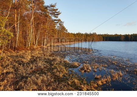 Lanscape in Finland natural area